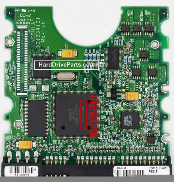 pcb disque dur maxtor 040103500