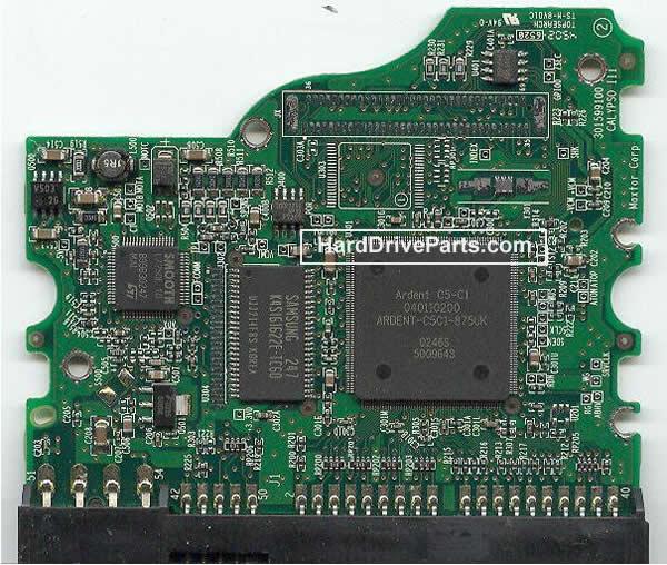 pcb disque dur maxtor 040110200