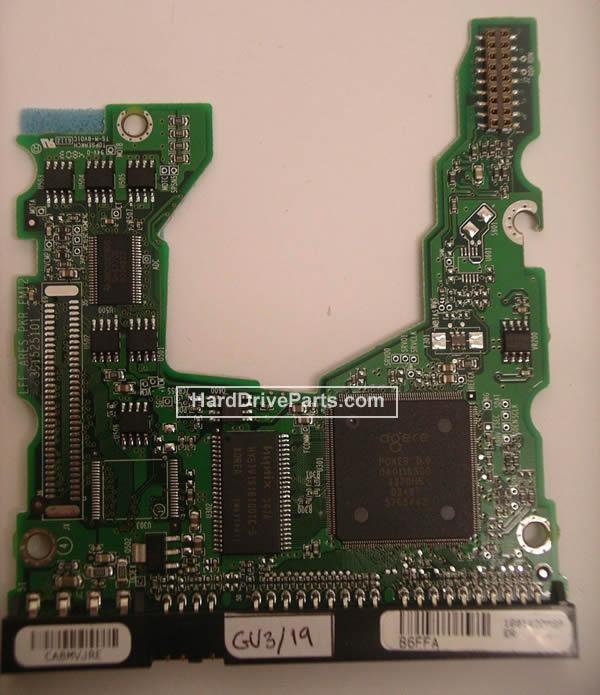 pcb disque dur maxtor 040111500