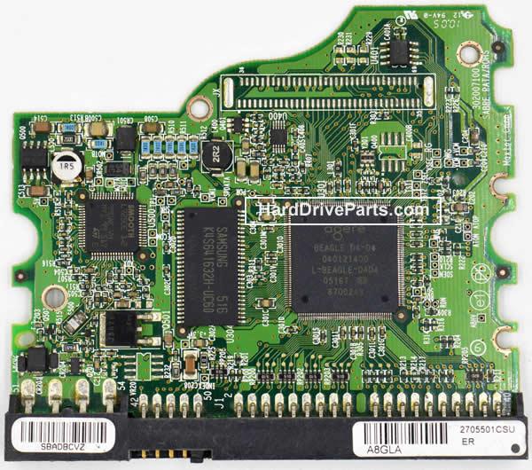 pcb disque dur maxtor 040121400
