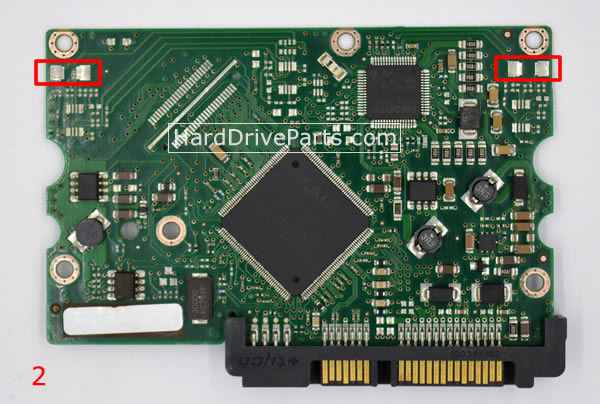 pcb disque dur seagate 100406533