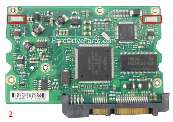 pcb disque dur seagate 100435196