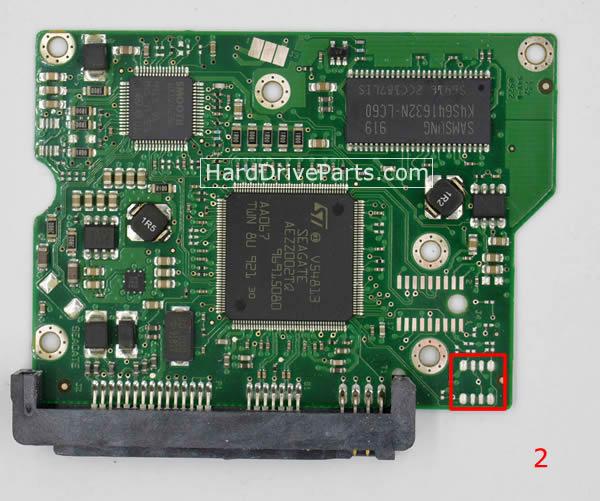 ST3250310CS Seagate PCB Controleur Disque Dur 100468303