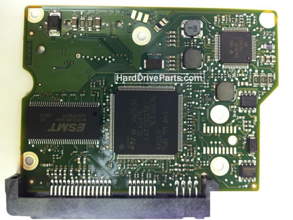 100535704 Carte Controleur PCB Disque Dur Seagate ST3160318AS