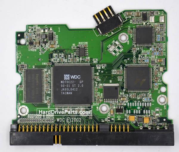 Western Digital WD1200AB Carte Electronique Disque Dur 2060-001173-004