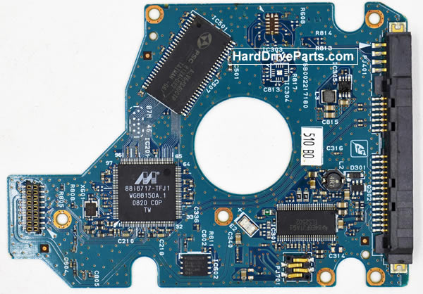 Toshiba MK8046GSX Carte Electronique Disque Dur G002217A