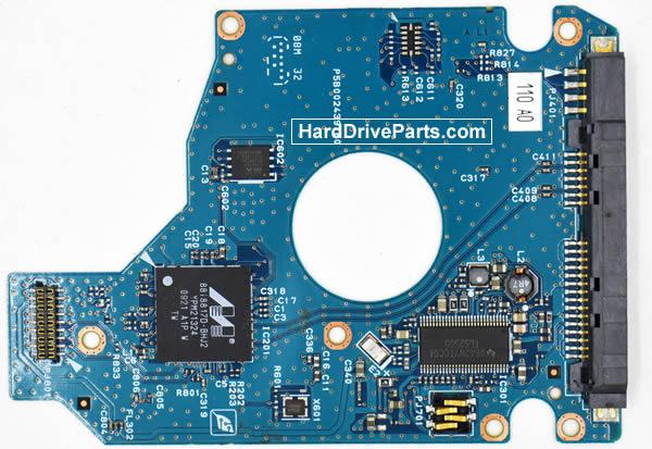 Toshiba MK1255GSX Carte Electronique Disque Dur G002439-0A