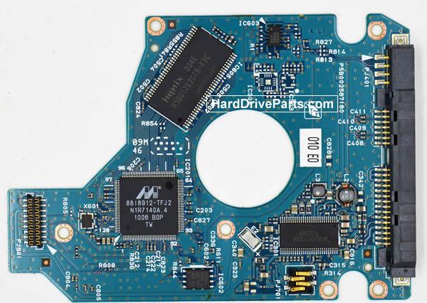 Toshiba MK3256GSY Carte Electronique Disque Dur G002587-0A