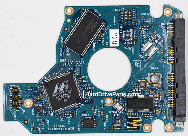 Toshiba MK7559GSM Carte Electronique Disque Dur G002641A