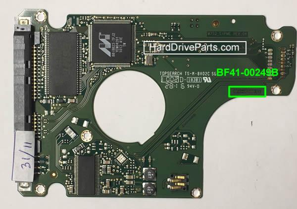 Changer carte controleur disque dur Samsung 2.5