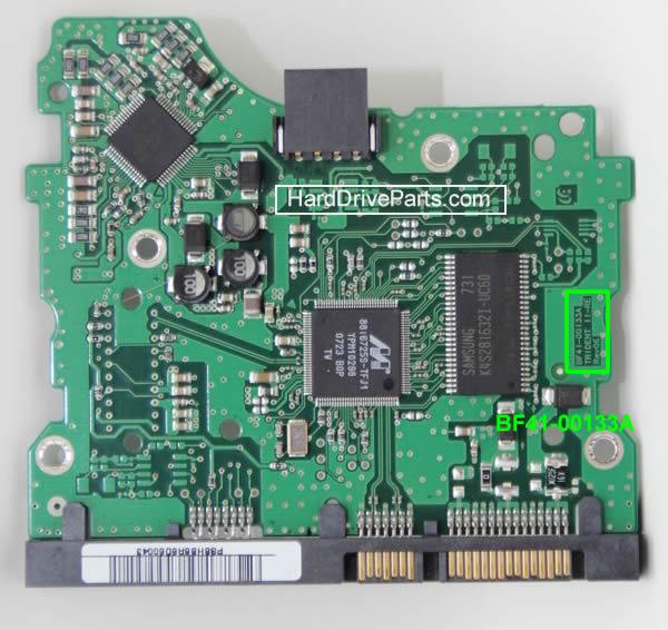 Changer carte controleur disque dur Samsung 3.5