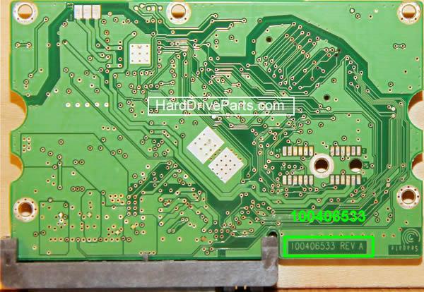 Changer carte électronique disque dur seagate barracuda 7200.10