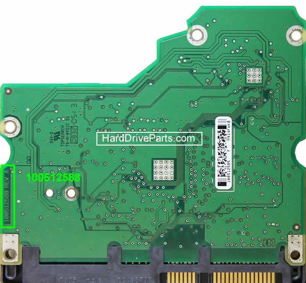 Changer carte électronique disque dur seagate barracuda 7200.11