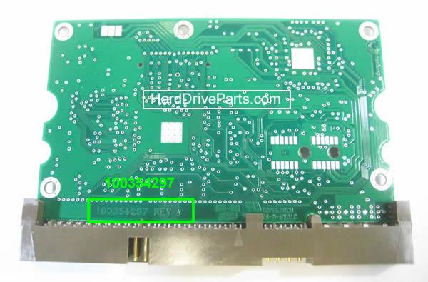 Changer carte électronique disque dur seagate barracuda 7200.8