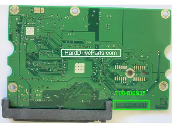 Changer carte électronique disque dur seagate barracuda 7200.9