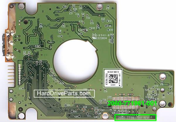 Changer carte électronique disque dur Western Digital 2.5